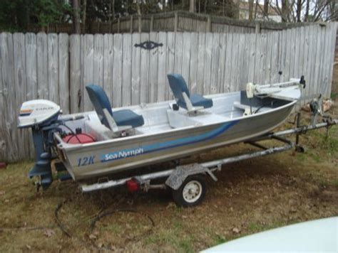 Sea Nymph Aluminum Jon Boats by 1974 12 Foot Sea Nymph Sea Nymph Small Boat For Sale In