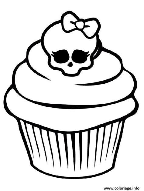 Hello Kleurplaat Cupcakes by Coloriage High Cupcake Dessin