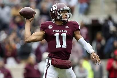 Texas Lsu Quarterback Comparison Troy Usa Today