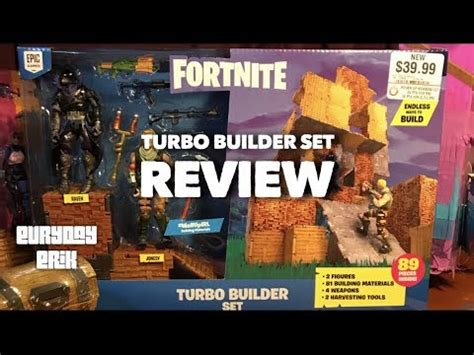 jazwares fortnite turbo builder set action figures toy