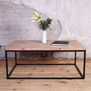Couchtisch Eiche Metall : agase industrial wooden metal coffee table rustic reclaimed retro vintage shabby chic dining table ~ Buech-reservation.com Haus und Dekorationen
