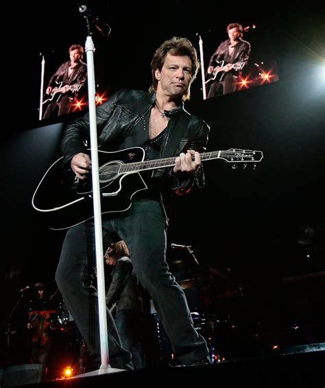 Jon Bon Jovi Concert The Staples Center