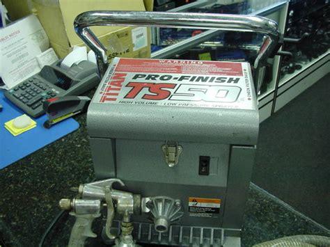Titan Ts50 Hvlp Pro-finish Painting System