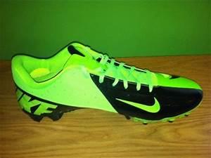 New NIKE Hyperfuse Vapor Elite Black Lime Green Football