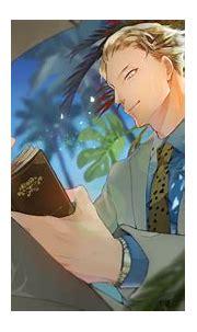 Blonde Blue Eyes Jujutsu Kaisen Kento Nanami Man HD ...