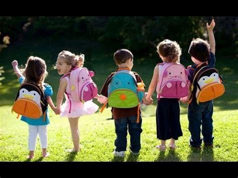 when do children go to preschool kindergarten explain their day of school 959