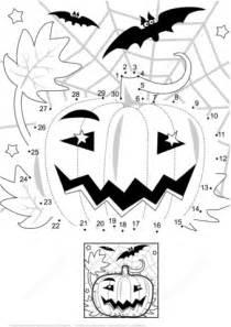 halloween night scene  pumpkin bats  spiderweb dot