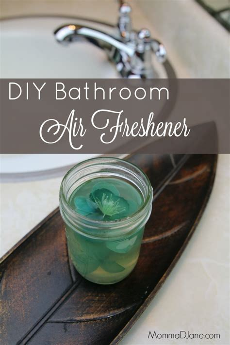 diy bathroom air freshener life family joy