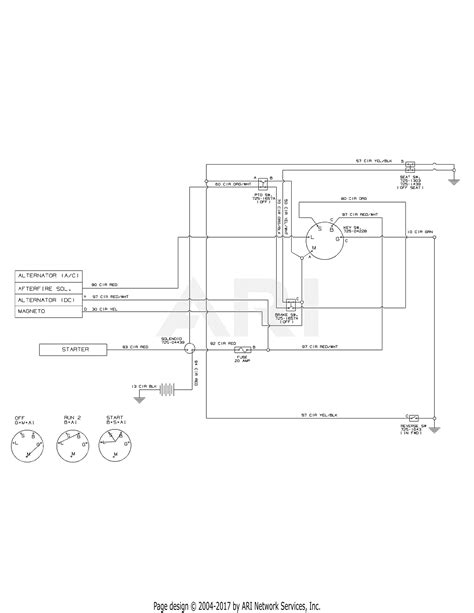 Huskee Mower Electrical Diagram by Mtd 13ac76lf031 Lt3800 2011 Parts Diagram For Wiring