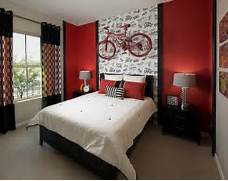 Red Black Grey White Bedroom by Red Black And White Interiors Living Rooms Kitchens Bedrooms