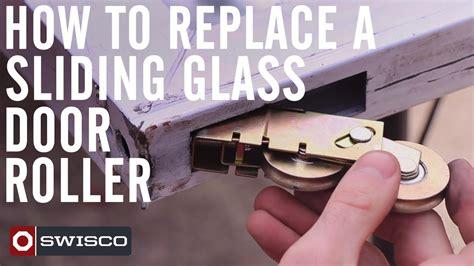 replace  patio sliding glass door roller p