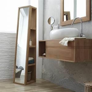 Bad Hochschrank Spiegel : le meuble colonne en 45 photos qui vont vous inspirer ~ Frokenaadalensverden.com Haus und Dekorationen