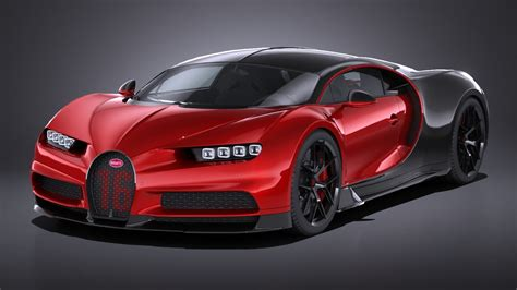 Yours for just over 2 million us dollars. Bugatti Chiron Sport 2019 3D Model