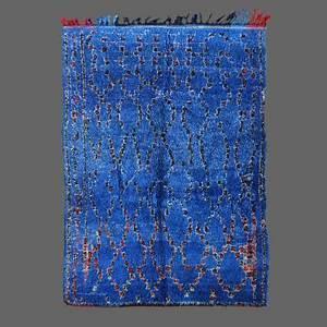 Tapis Berbere Bleu : tapis de beni m 39 guild secret berb re ~ Teatrodelosmanantiales.com Idées de Décoration
