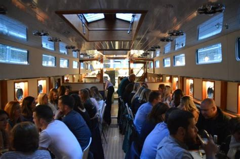 Boat Grill Restaurant by Bar Picture Of Canal Boat Restaurant Dublin Tripadvisor