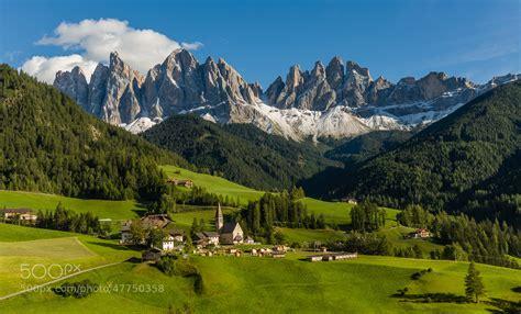 Photograph Santa Maddalena In Val Di Funes By Hans Kruse
