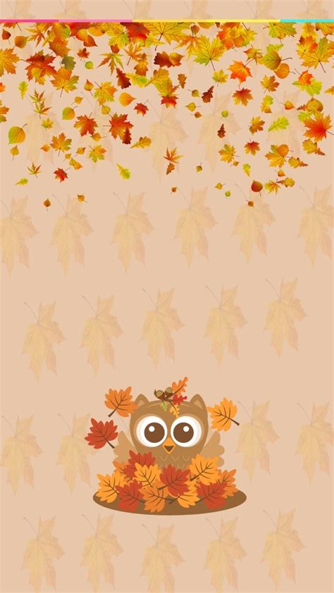 Background Home Screen Fall Thanksgiving Wallpaper by Pin By Martin On Makeup Owl Wallpaper Iphone