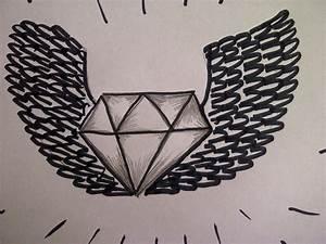 Zeichnungen Mit Bleistift Für Anfänger : zeichnen lernen f r anf nger wie zeichnet man einen diamanten mit fl gel youtube ~ Frokenaadalensverden.com Haus und Dekorationen