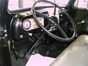 1950 Ford Truck Interior
