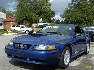 2003 Ford Mustang V6 Convertible in Sonic Blue Metallic - 368010 | Jax Sports Cars - Cars for ...