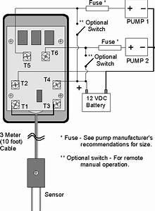 Cruzpro Efs20 Automatic Dual Bilge Pump Controller 24v