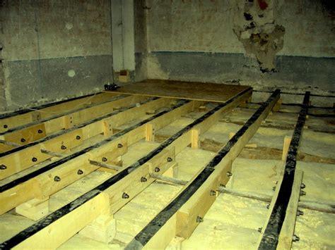 plancher bois isolation phonique isolation phonique au sol pour mezzanine en bois