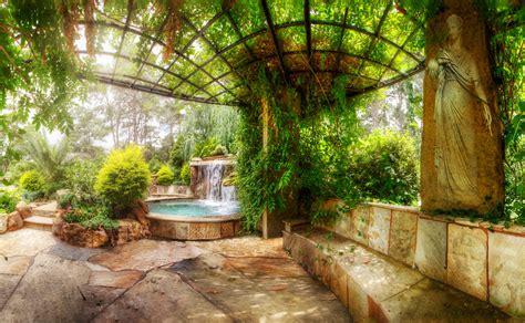 backyard landscaping paradise  spectacular natural