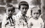 Czech Children of the Early 20th Century Dressed Up for School