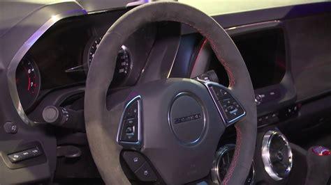 chevrolet camaro zl interior design automototv