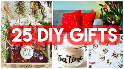 diy christmas gift ideas  crafts presents