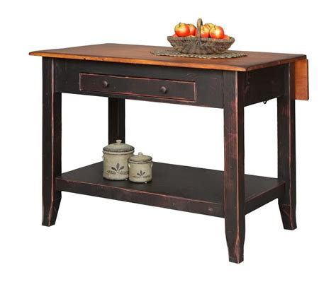 country kitchen side table primitive kitchen island snack bar table drop side