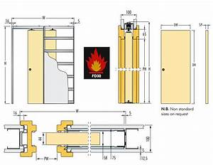 Eclisse Fire Rated Sliding Pocket Door System