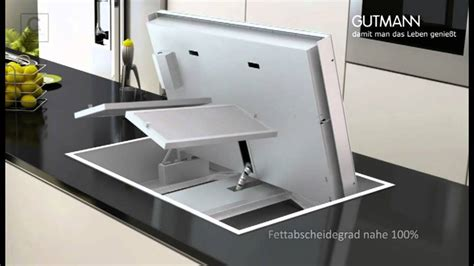 Abzugshaube Arbeitsplatte Integriert by K 252 Chenstudio Kern Pr 228 Sentiert Dunstabzug Gutmann
