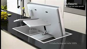 Kuchenstudio kern prasentiert dunstabzug von gutmann for Gutmann dunstabzug