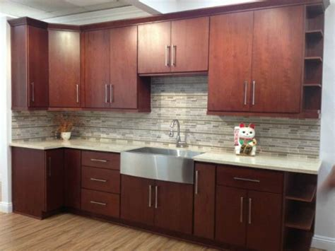 slab front kitchen cabinets slab cabinets deal several decor options for kitchens and 5305