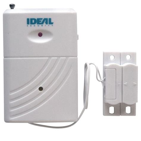 door open alert ideal security wireless door or window sensor with alarm