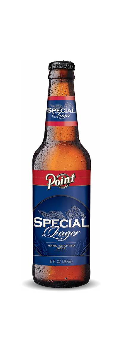 Special Lager Beer Point Bottle