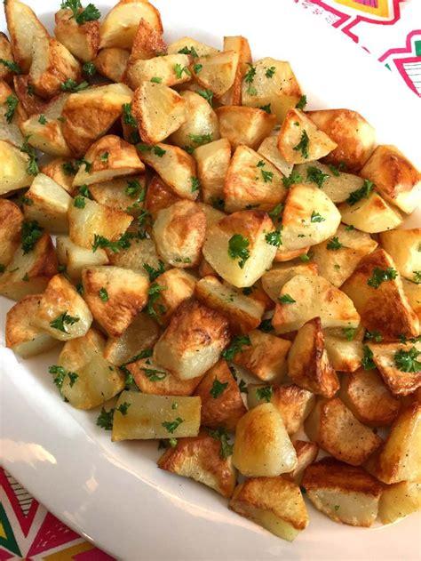 Roast Potatoes In Oven