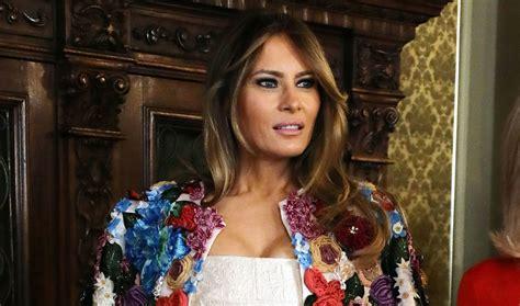 Melania Trump Wears A $51,500 Coat During Sicily Visit