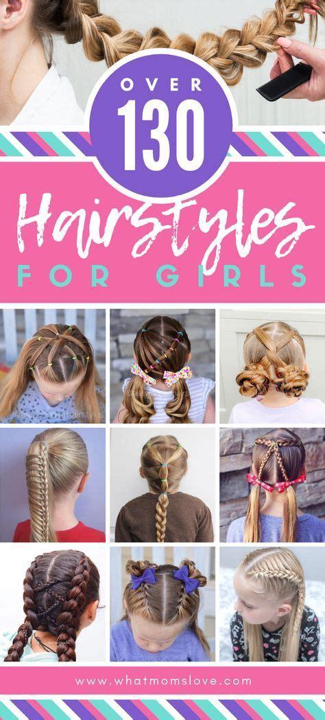 Easy Girls Hairstyles For Toddlers Tweens &in 2020