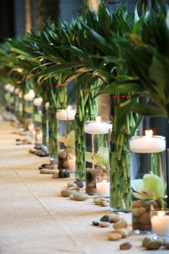 bamboo centerpieces ideas  pinterest asian