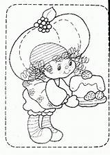 Coloring Strawberry Shortcake Muffin Pages Cartoon Azcoloring Template Popular Characters Precious Moments Sketch Books sketch template