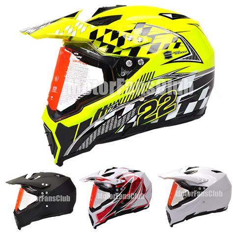 motocross helmet visor motorcycle motocross off road atv dirt bike helmet with