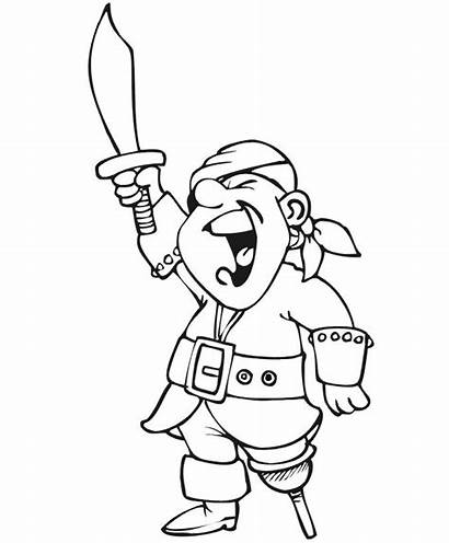 Coloring Pirate Cartoon Websincloud Actividades Pages Para