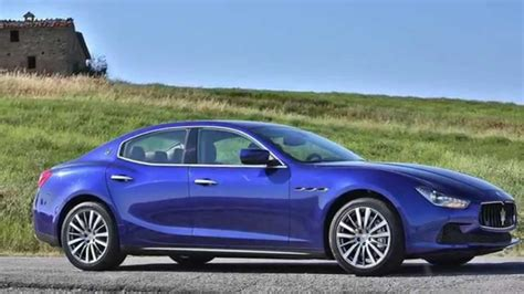 Maserati Ghibli 2014 Stunning Bright Blue Blu Corse