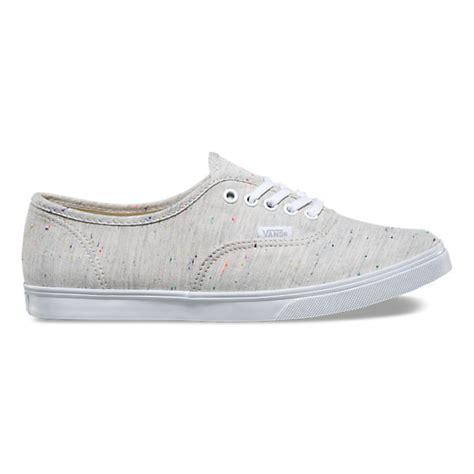 speckle jersey authentic lo pro shop shoes at vans