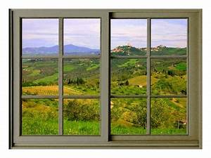 Periodic Table Printable View From The Window At Castiglione D 39 Orcia Giclee Print