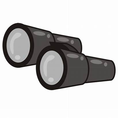 Clipart Binoculars Clip Youth Club Cliparts Police