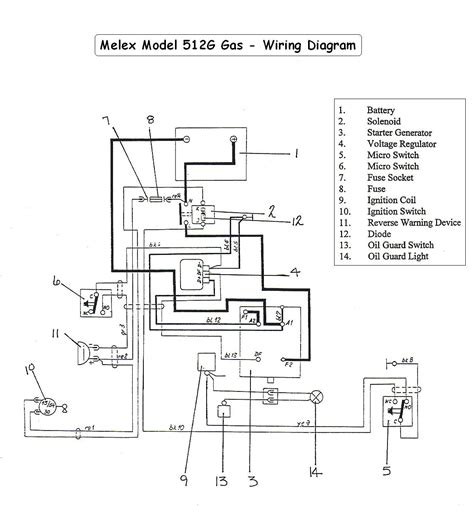 Automobile Wiring Diagram Light Switch by Vintagegolfcartparts