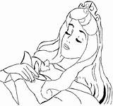 Sleeping Coloring Drawing Aurora Sleep Addormentata Bella Popular Getdrawings Recommended sketch template
